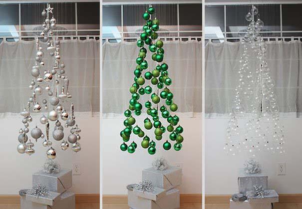 DIY Χριστουγεννιάτικα δέντρα (1)