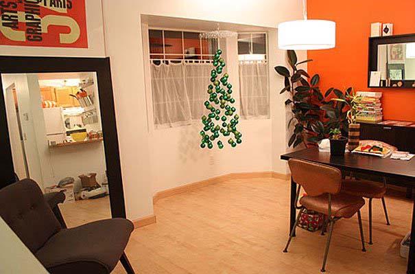 DIY Χριστουγεννιάτικα δέντρα (2)