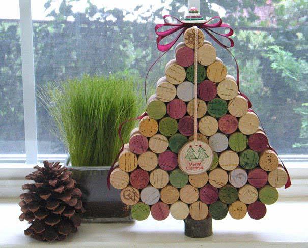 DIY Χριστουγεννιάτικα δέντρα (13)