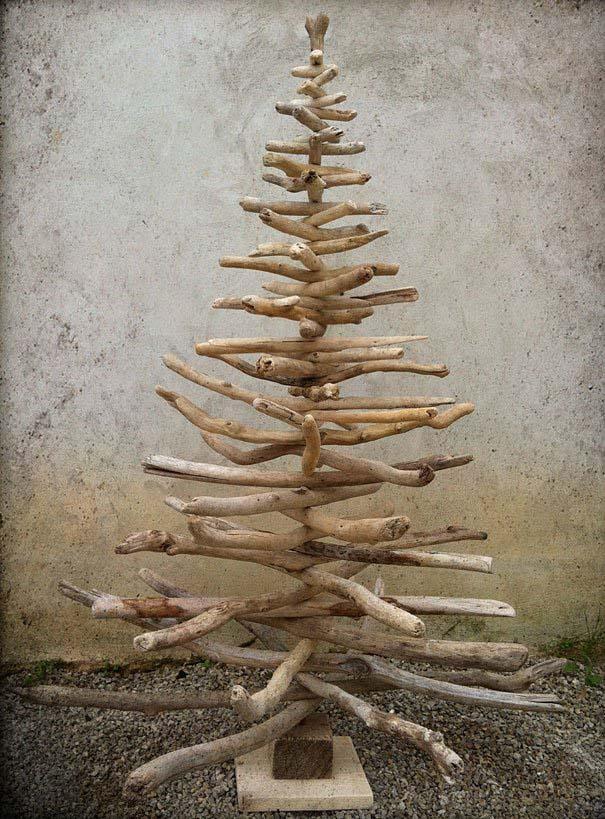 DIY Χριστουγεννιάτικα δέντρα (14)