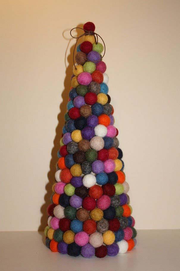 DIY Χριστουγεννιάτικα δέντρα (16)