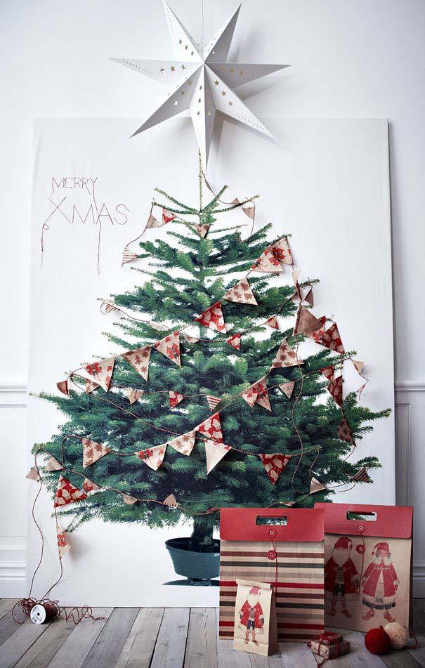 DIY Χριστουγεννιάτικα δέντρα (22)