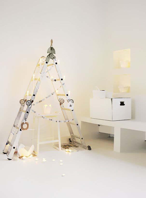 DIY Χριστουγεννιάτικα δέντρα (27)