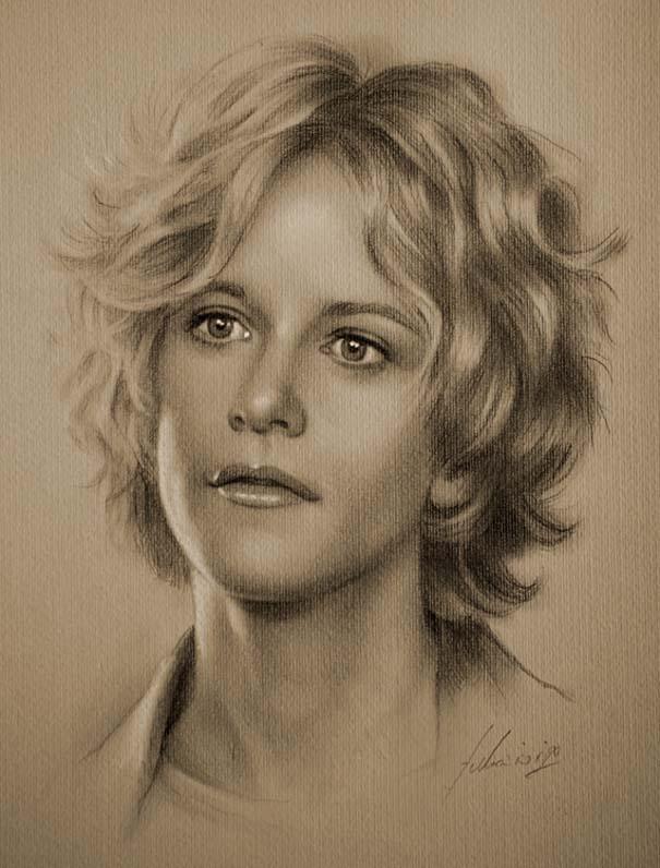 21 εκπληκτικά πορτραίτα διασήμων με μολύβι (11)