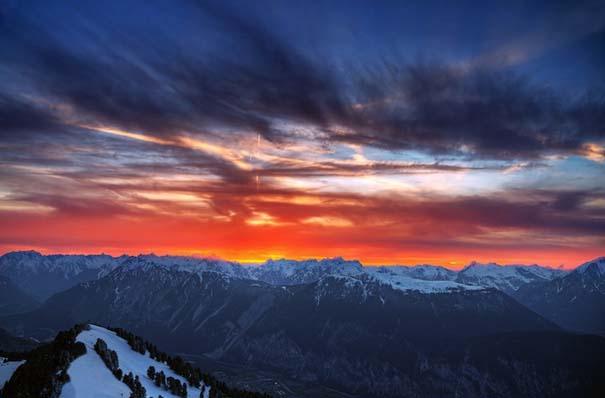 Έκρηξη χρωμάτων στον ουρανό - Φωτογραφίες που κόβουν την ανάσα (7)