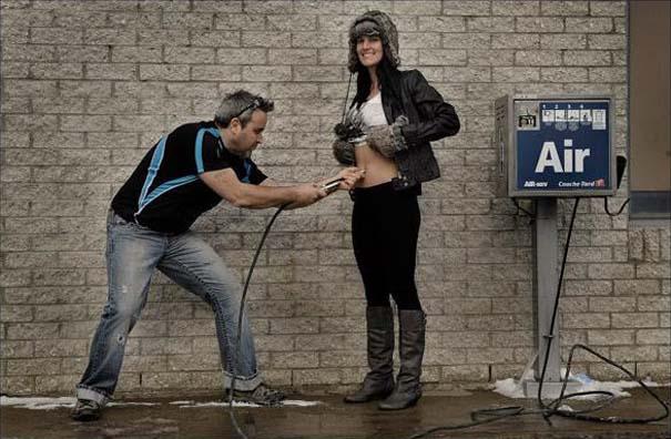 Έξυπνη φωτογράφιση για την πορεία μιας εγκυμοσύνης (1)