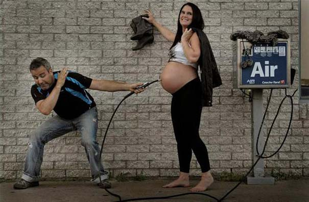 Έξυπνη φωτογράφιση για την πορεία μιας εγκυμοσύνης (4)
