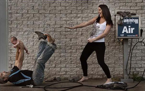 Έξυπνη φωτογράφιση για την πορεία μιας εγκυμοσύνης (6)