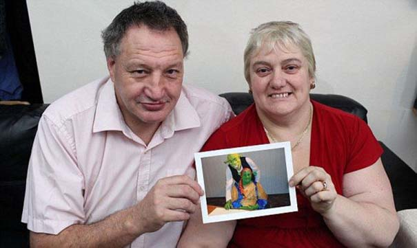 Ζευγάρι έκανε γάμο εμπνευσμένο από τον Shrek (7)