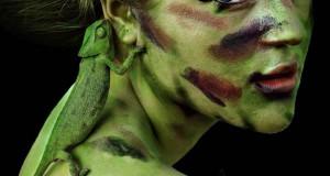 17χρονη καμουφλάρει τον εαυτό της για να μοιάζει με διαφορετικά ζώα