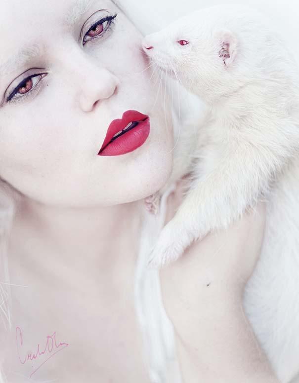 Κοπέλα καμουφλάρει τον εαυτό της για να μοιάζει με διαφορετικά ζώα (5)