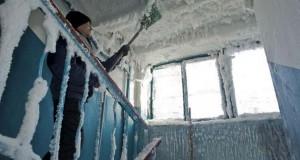 Το εσωτερικό μιας πολυκατοικίας στους -59 °C