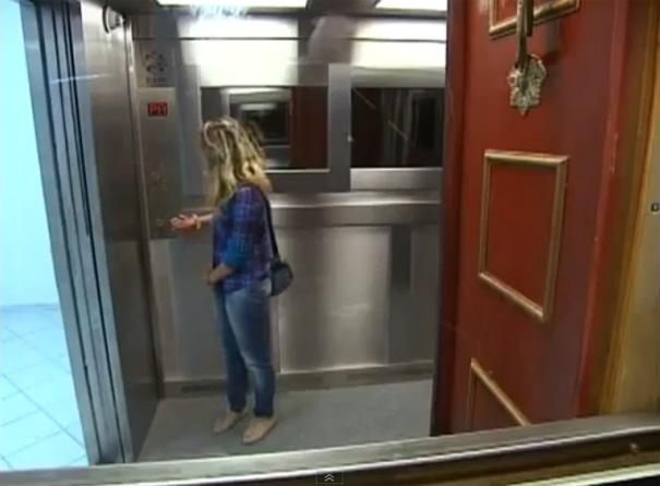 Νέα μακάβρια φάρσα σε ασανσέρ