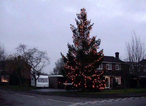 Το μικρό Χριστουγεννιάτικο δέντρο που «μάγεψε» όλη την περιοχή (3)