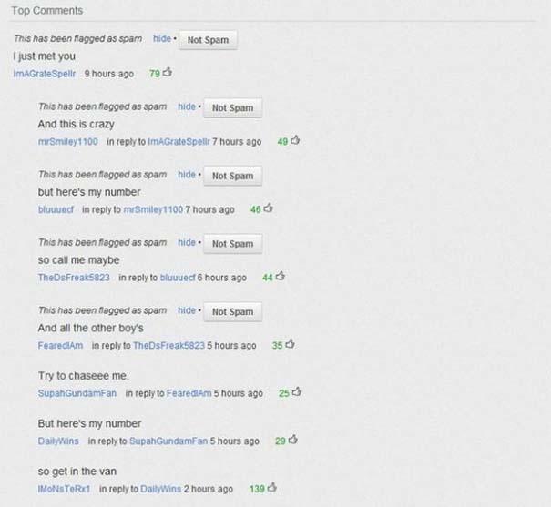 25 από τα πιο αστεία σχόλια του 2012 στο YouTube (2)