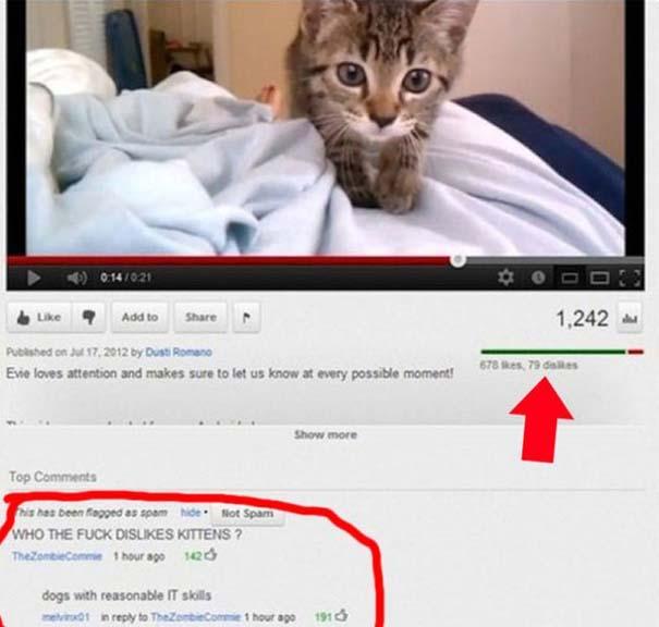 25 από τα πιο αστεία σχόλια του 2012 στο YouTube (3)