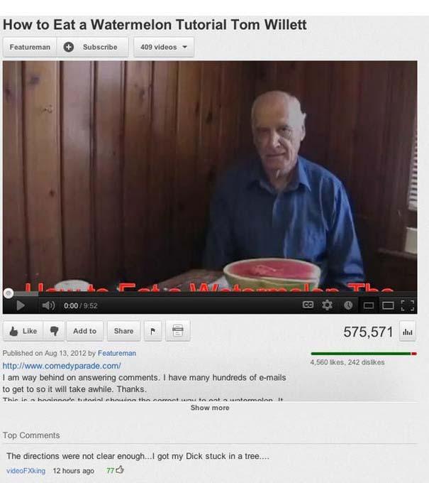 25 από τα πιο αστεία σχόλια του 2012 στο YouTube (17)