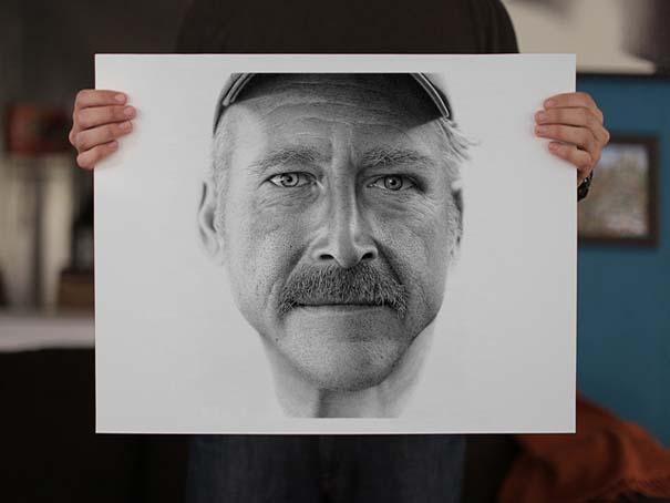 Απίστευτο πορτραίτο από 2,1 εκατομμύρια τελείες (6)