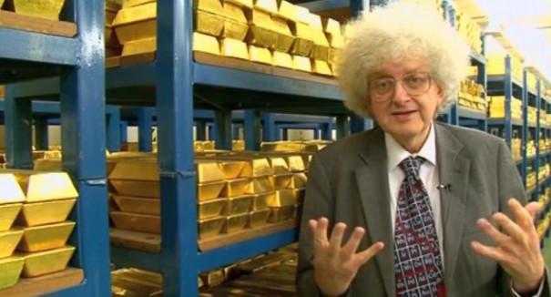 Πως είναι να βρίσκεσαι ανάμεσα σε 240 δισ. ευρώ σε ράβδους χρυσού