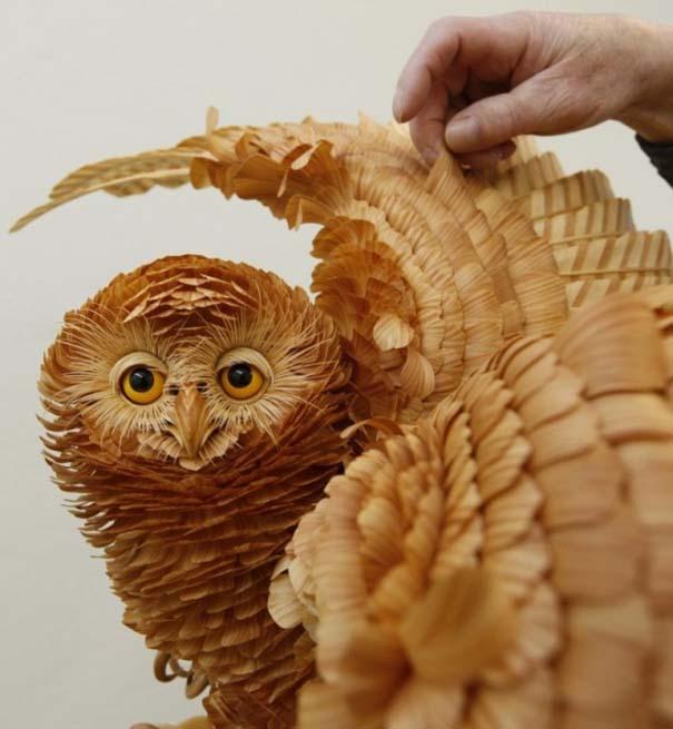 Απίστευτα ρεαλιστικά γλυπτά ζώων από ξύσματα μολυβιού (1)
