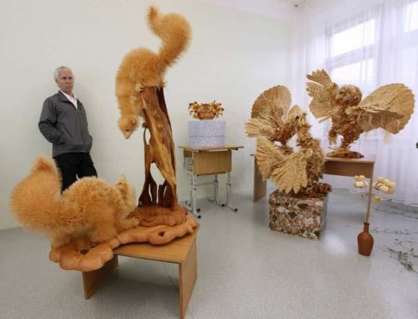 Απίστευτα ρεαλιστικά γλυπτά ζώων από ξύσματα μολυβιού (2)