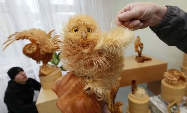Απίστευτα ρεαλιστικά γλυπτά ζώων από ξύσματα μολυβιού (3)