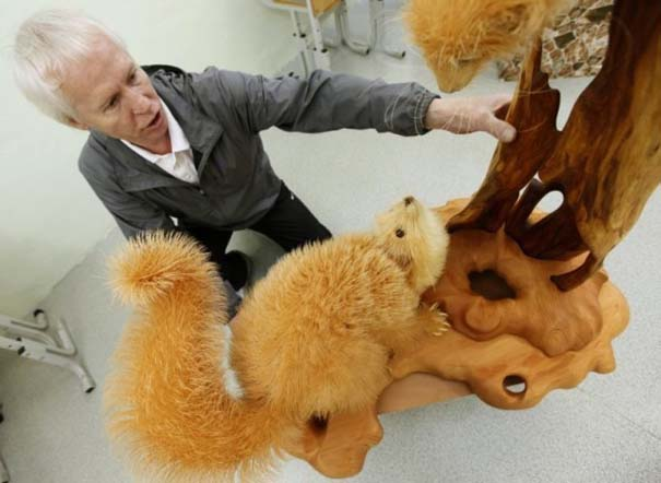 Απίστευτα ρεαλιστικά γλυπτά ζώων από ξύσματα μολυβιού (5)