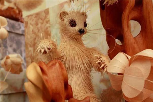 Απίστευτα ρεαλιστικά γλυπτά ζώων από ξύσματα μολυβιού (7)