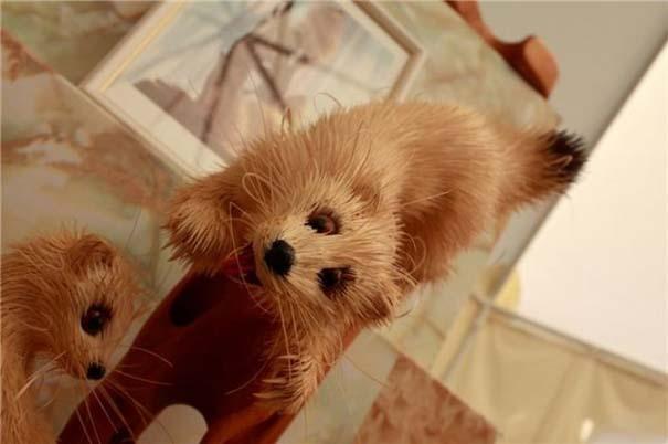 Απίστευτα ρεαλιστικά γλυπτά ζώων από ξύσματα μολυβιού (8)