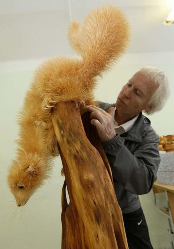 Απίστευτα ρεαλιστικά γλυπτά ζώων από ξύσματα μολυβιού (11)