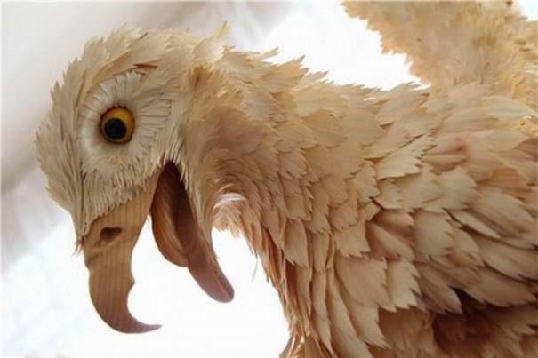 Απίστευτα ρεαλιστικά γλυπτά ζώων από ξύσματα μολυβιού (13)
