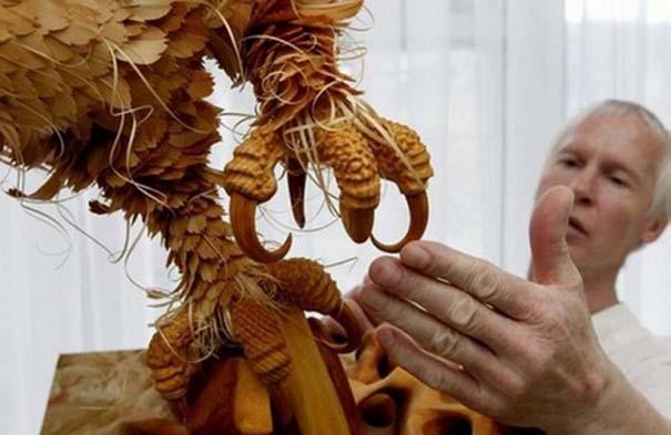 Απίστευτα ρεαλιστικά γλυπτά ζώων από ξύσματα μολυβιού (14)