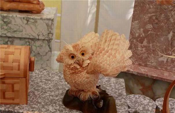 Απίστευτα ρεαλιστικά γλυπτά ζώων από ξύσματα μολυβιού (15)