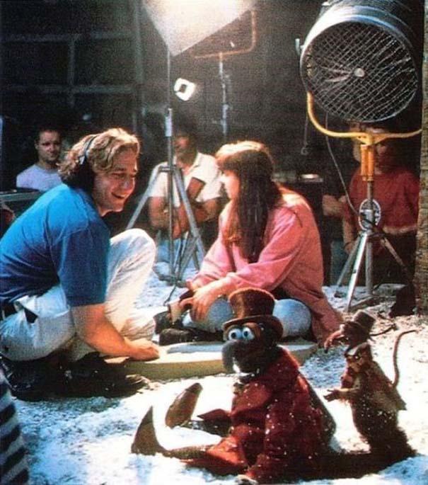 Σπάνιες φωτογραφίες από τα γυρίσματα κλασσικών ταινιών (17)