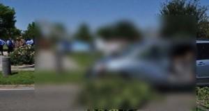 Σπάνιο τροχαίο ατύχημα στη Νέα Ορλεάνη