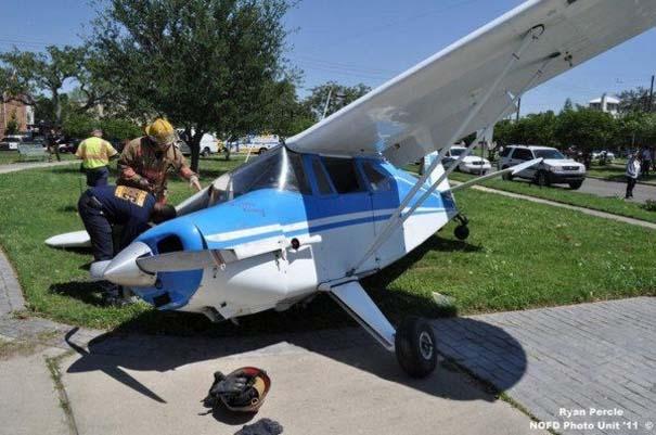 Σπάνιο τροχαίο ατύχημα στη Νέα Ορλεάνη (3)