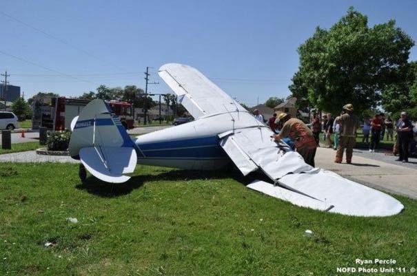 Σπάνιο τροχαίο ατύχημα στη Νέα Ορλεάνη (5)