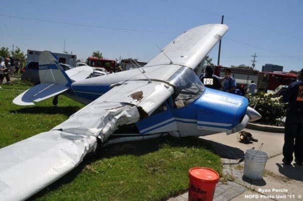 Σπάνιο τροχαίο ατύχημα στη Νέα Ορλεάνη (6)
