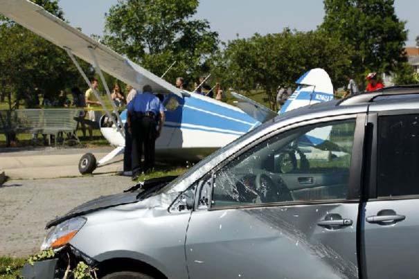 Σπάνιο τροχαίο ατύχημα στη Νέα Ορλεάνη (7)