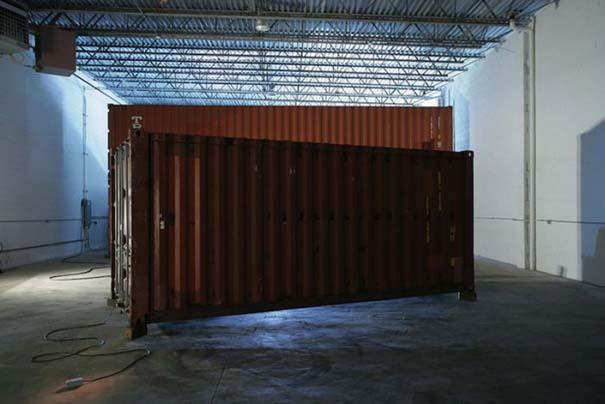 Σπίτι Transformer από ένα παλιό container (1)