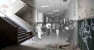 Ερειπωμένο σχολείο στο Detroit ξαναζωντανεύει μέσα από φωτογραφίες