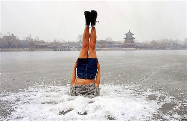 Τούμπες στον πάγο