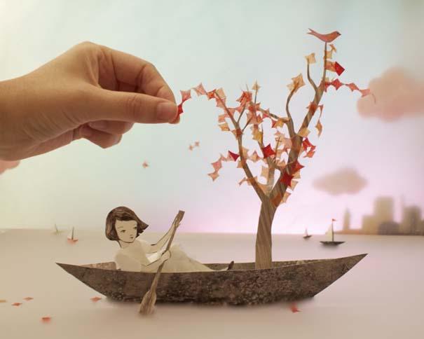 Όταν η χαρτοκοπτική γίνεται μαγευτική 3D τέχνη (1)