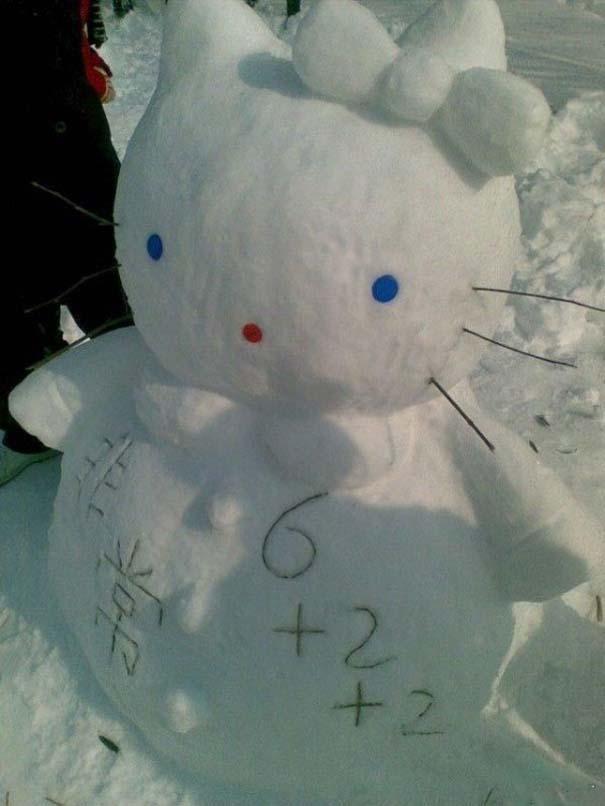 Ξεκαρδιστικοί Χιονάνθρωποι (1)