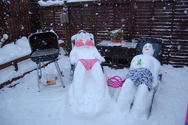 Ξεκαρδιστικοί Χιονάνθρωποι (3)