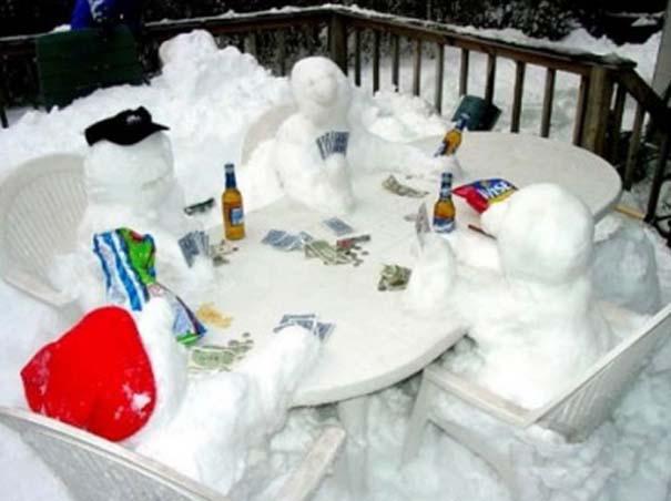 Ξεκαρδιστικοί Χιονάνθρωποι (4)