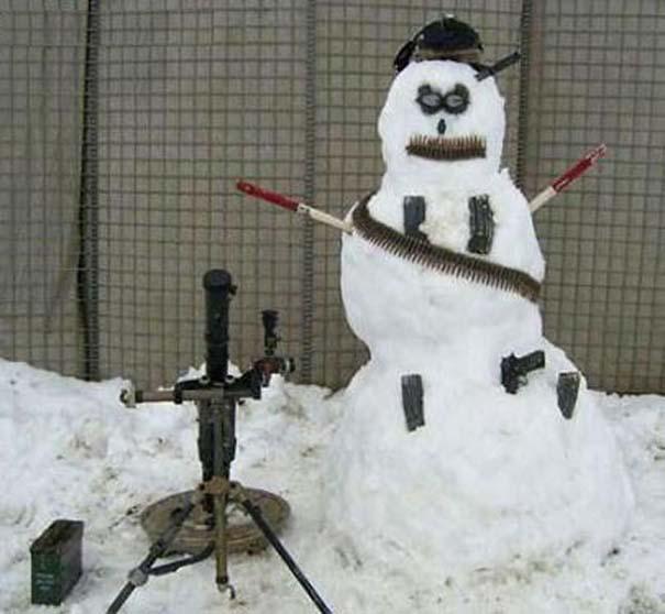 Ξεκαρδιστικοί Χιονάνθρωποι (5)