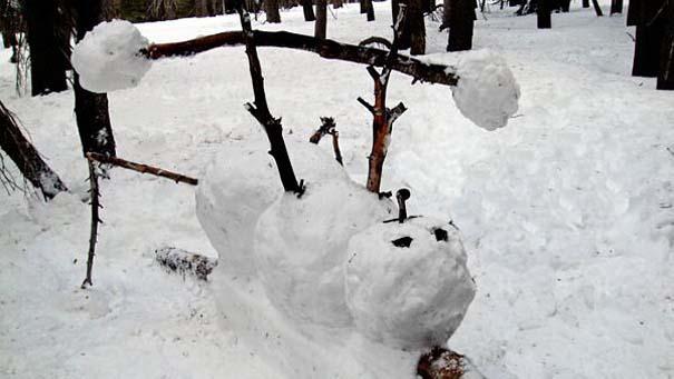 Ξεκαρδιστικοί Χιονάνθρωποι (7)