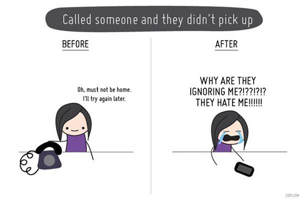 Η ζωή πριν και μετά τα κινητά τηλέφωνα (2)