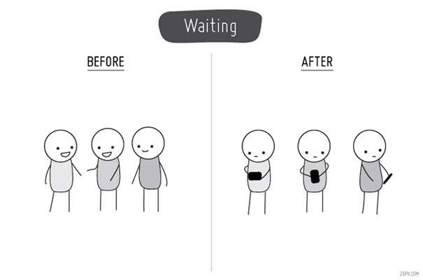 Η ζωή πριν και μετά τα κινητά τηλέφωνα (5)